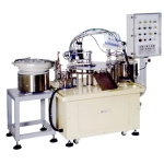 Auto Bottle Feeding-Filling-Capping Machine