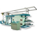AUTOMATIC FLEXOGRAPHIC COLOR PRINTING MACHINE