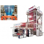 Inflation Machine - High Speed Three-Layer Co-Extrusion