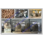 cassava starch processing plant commercial price