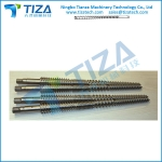 Twin Screws Barrel for plastic profile sheet wooden products